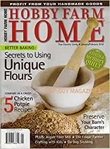 Hobby farm home true country living magazine january for Country living magazine recipes