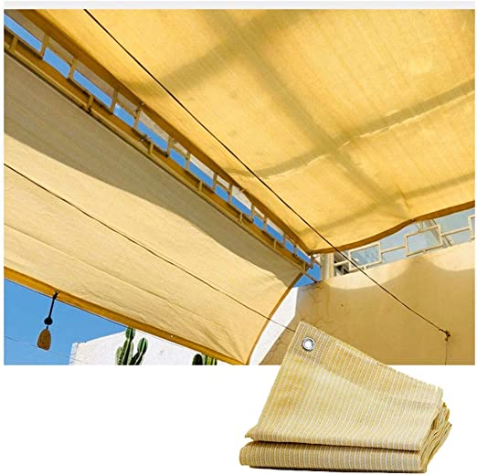 Sail Shade for Garden, Awnings Shelter Sun Shade Sail Canopy Garden Shading Net Shade Cloth For Pergola Patio Awnings And Canopies UV Resistant Net For Outdoor Gazebo Terrace Patio Garden Party Decora: