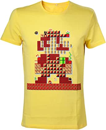 Nintendo Super Mario Bros. Giant Mario 30th Anniversary Men's T-Shirt