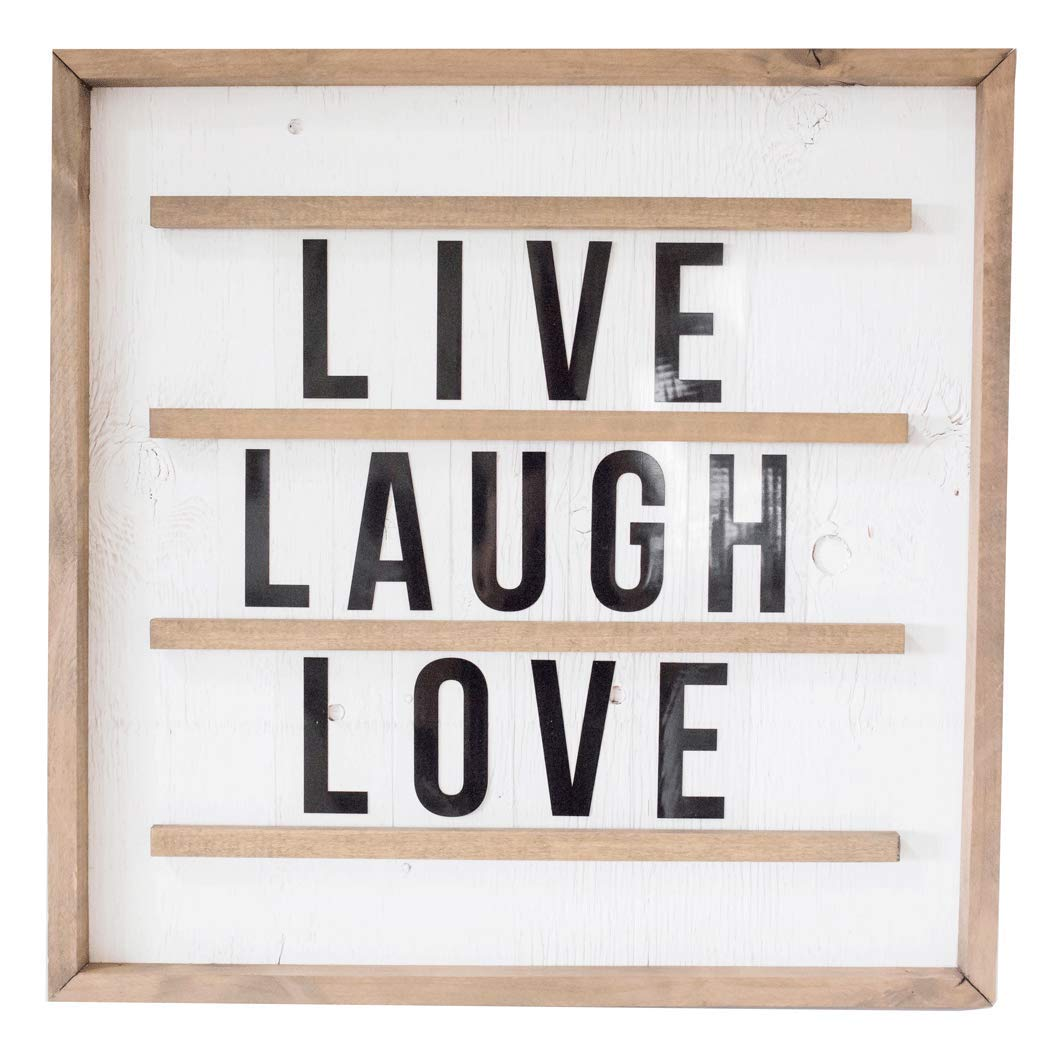Joyful Living Square Marquee Board by Joyful Living