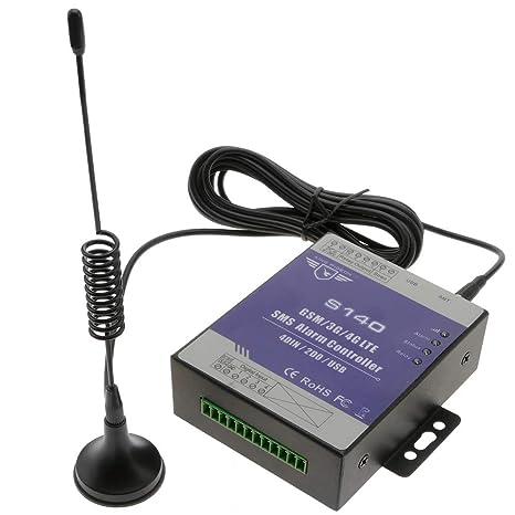 Cablematic - Control remoto por GSM de 4 entradas y 2 ...
