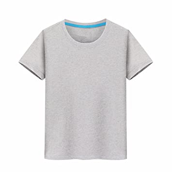 XIAOGEGE T-shirt camisetas personalizadas, ropa de media manga 100% algodón Camiseta igual