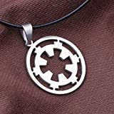 Nongkhai shop Classic Movie Star Wars Galactic Empire Sigh Pendant Necklace 1pcs