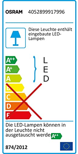 Osram LED Flutlichtstrahler, Noxlite, weiß