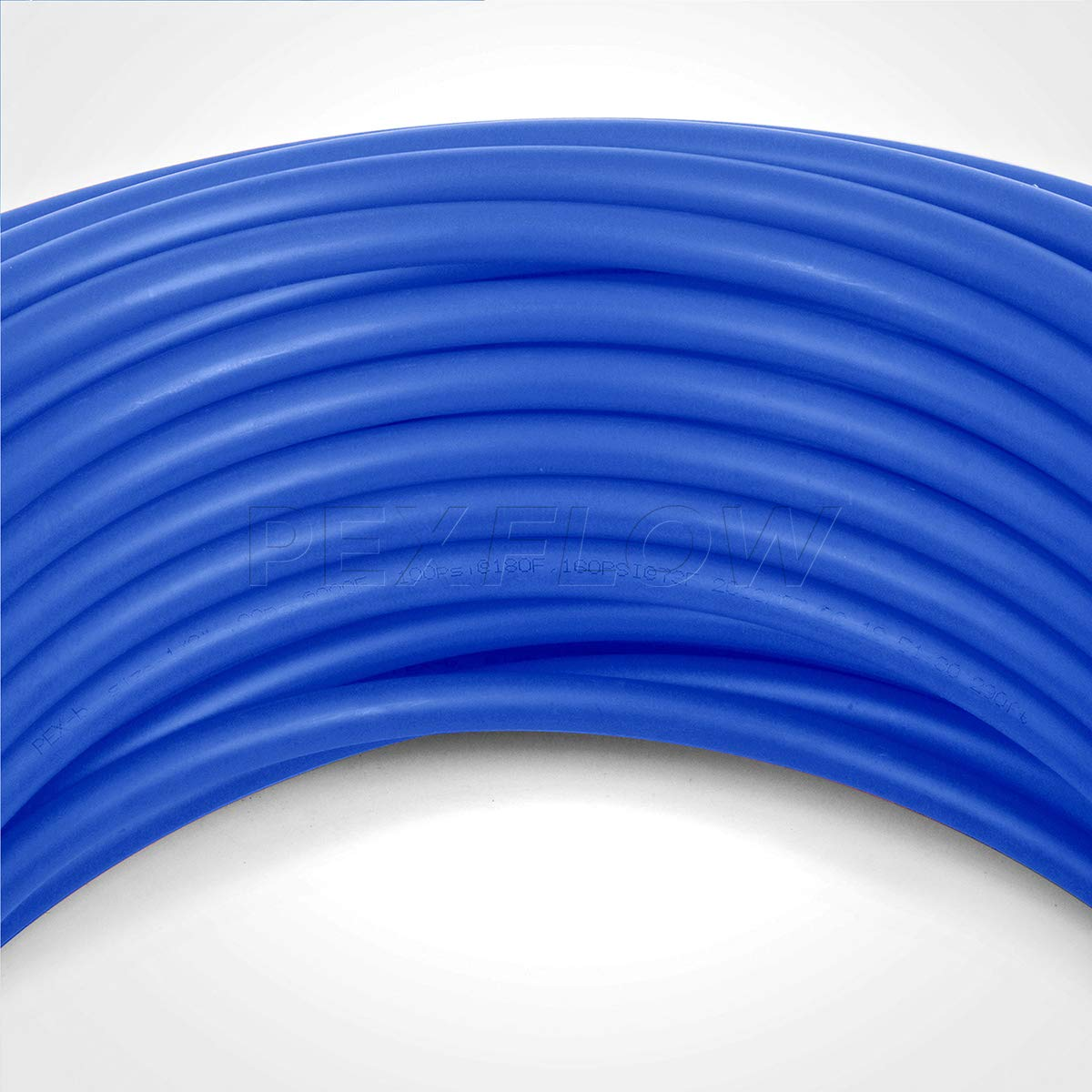 Pexflow PFW-B1100 PEX Potable Water Tubing Non-Barrier Pipe, 1 Inch x 100 Feet, Blue by PEXFLOW (Image #6)