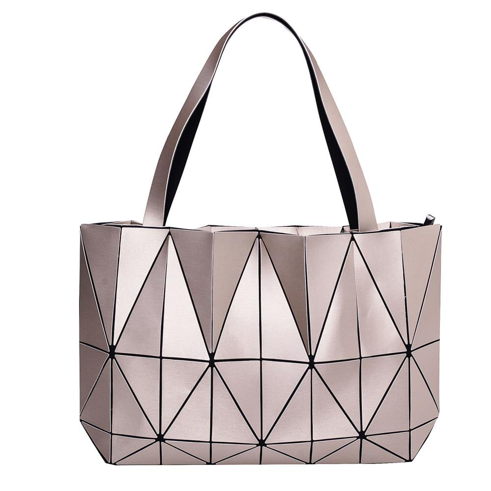 SOFT   DURABLE  Our tote handbag is made with High-quality PU Leather with  a unique diamond lattice design that looks gorgeous with any dress. 3c8cd93b8eda7