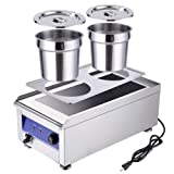 WeChef Commercial Stainless Steel Food Warmer