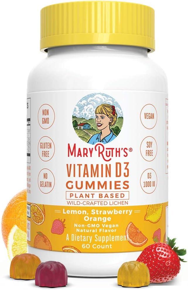 MaryRuth Organics Vegan Vitamin D3 Gummy