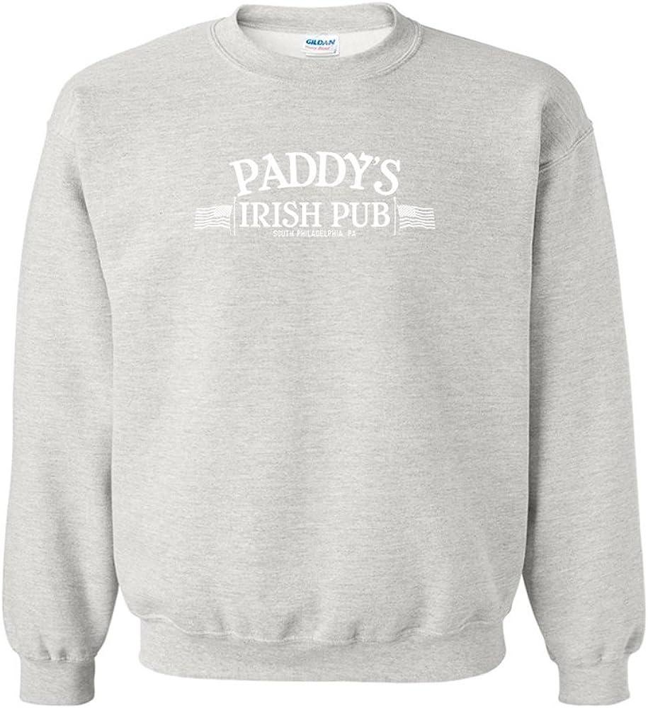 St Be Yourself Irish Clover Black Adult Crew Neck Sweatshirt Patricks Day