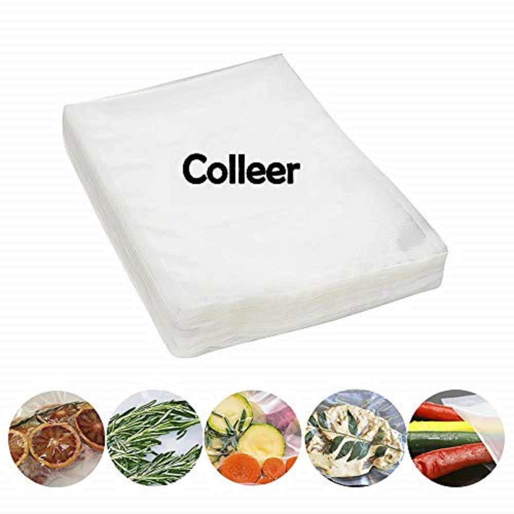 vacuum sealer bags 50 Pack Sealing Bags for Foodsaver Colleer SVBNUD093 Vacuum Sealer Bag
