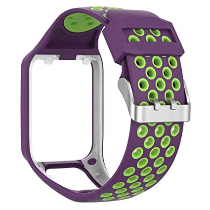 Amazon.com: Flickering Silicone Watchband Replacement Watch ...