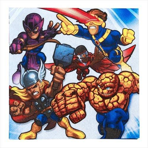 Marvel Super Hero Squad Large Napkins (16ct)