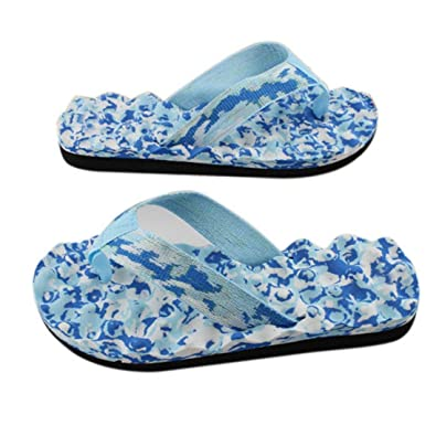 Femmes été tongs chaussures sandales pantoufle intérieure et extérieure tongs zvxRugi