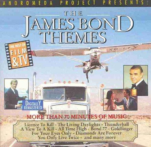 Original album cover of James Bond Film Themes by James Bond themes