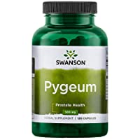 Swanson Pygeum Prostate Support Urinary Tract Health Men Herbal Supplement 100 mg...