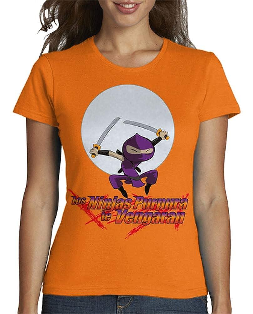 latostadora - Camiseta Ninja Purpura para Mujer ...