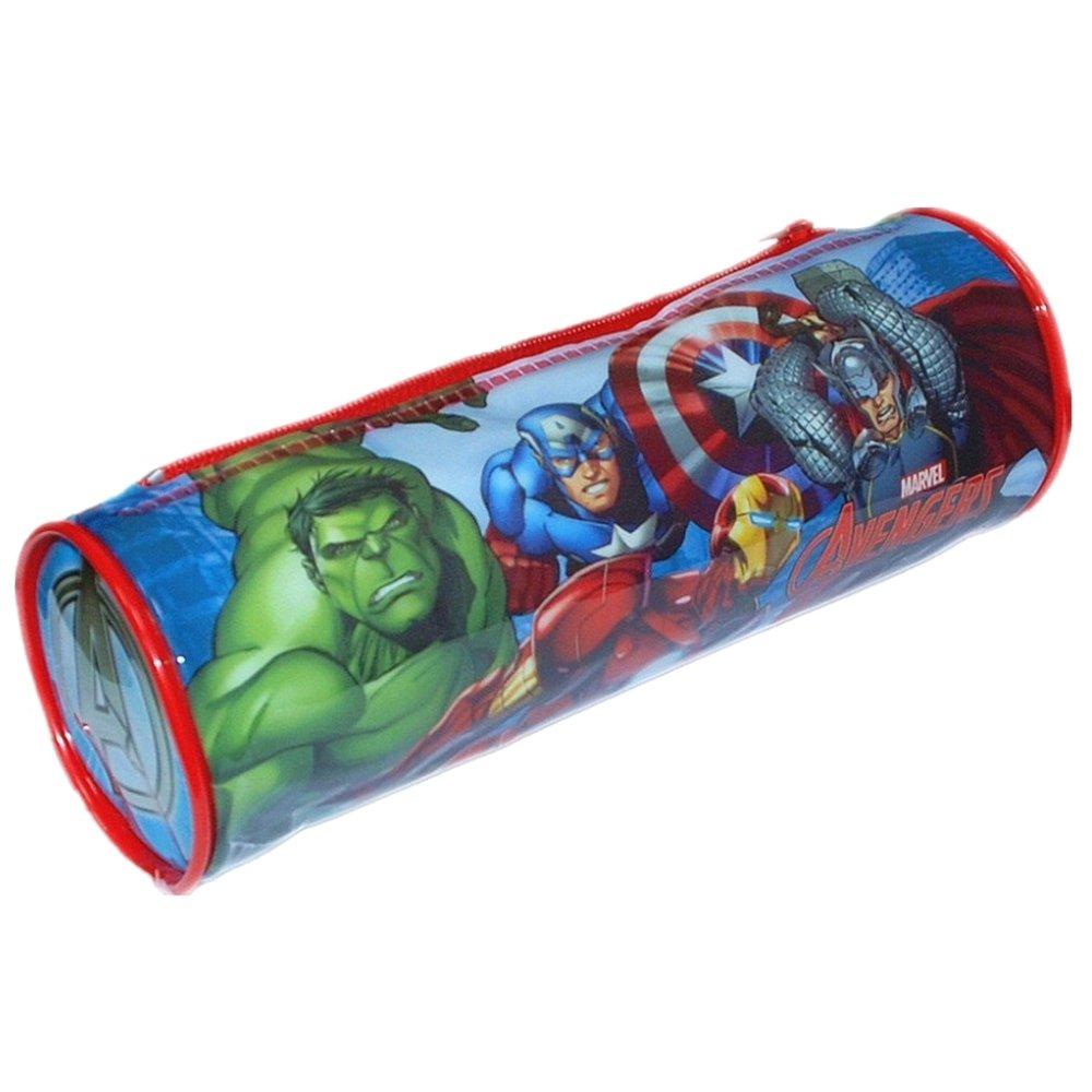 Marvel 7475010PVC Avengers Round Pencil Case: Amazon.co.uk: Toys & Games