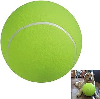 ueetek le chien du diamètre 24cm Croquez le ballon de Tennis géant de la sphère de l'animal domestique pour le grand animal domestique que joue l'exercice