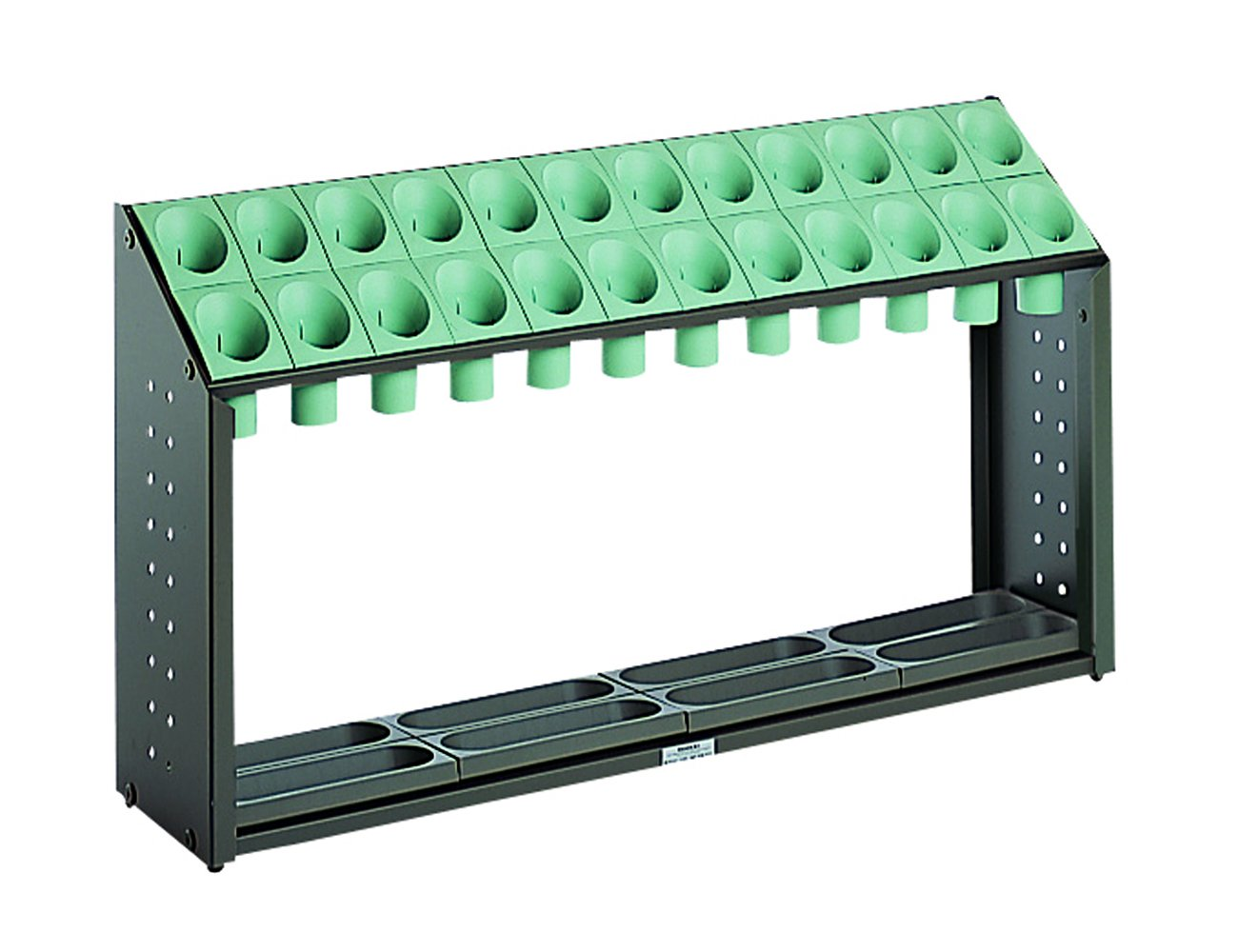テラモト オブリークアーバン B24 全4色 全4サイズ 施設向け 傘立て グリーン 24本収納 UB-285-124 [正規代理店品] B001D7PX9C 14061  マルチカラー