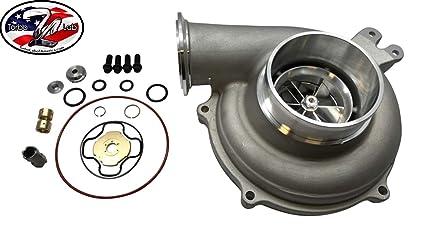 99-03 7.3 Turbo Compressor Housing, Billet Wheel and Rebuild Kit