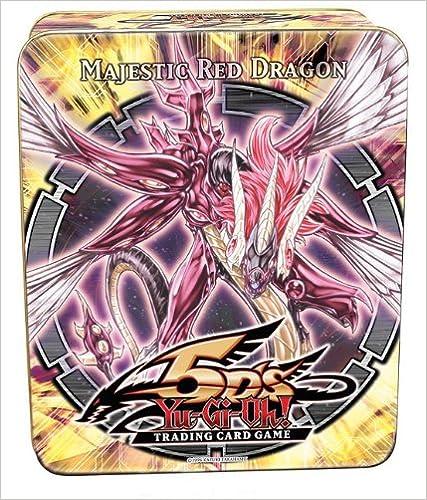 Yu-GI-Oh Majestic rot Dragon Tin Card Game
