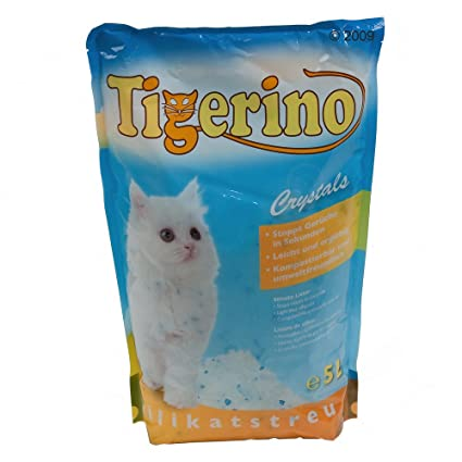 Tigerino Crystals - Arena de silicato para gatos, 25 L ...