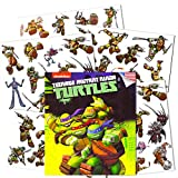 Teenage Mutant Ninja Turtles Temporary Tattoos for Kids (Party Supplies Pack)