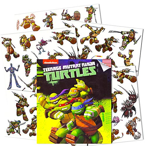 Teenage Mutant Ninja Turtles Temporary Tattoos for Kids (Party Supplies Pack)]()