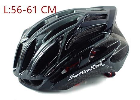 helmett Szelyia Cycling Sports M L 54-61Cm Ultralight In-Mold Mtb Mountain Bike Cascos