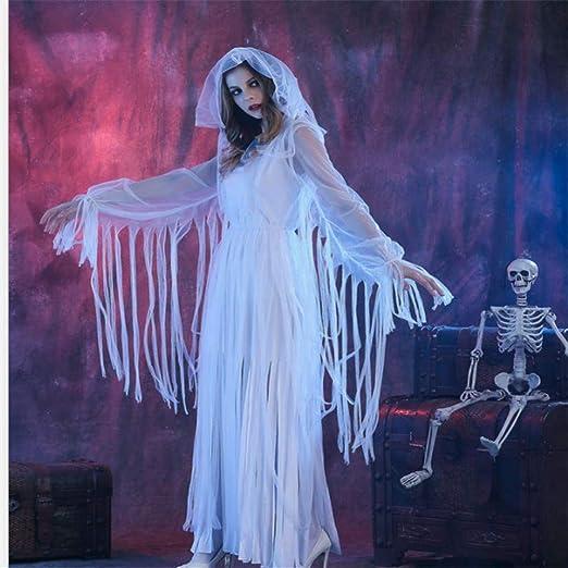 Disfraz De Halloween Adulto Mujer Horror Momia Reina Falda Larga ...
