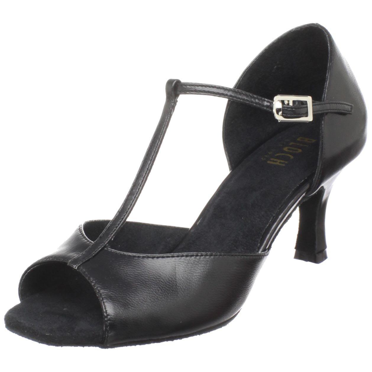 Bloch Dance Women's Issabella Ballroom Shoe,Black,7 M US