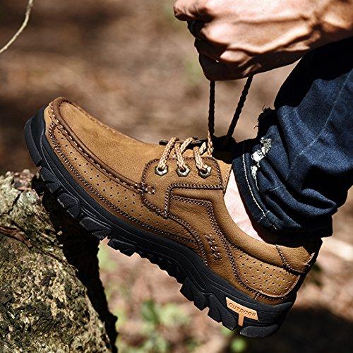 Miyoopark UK-XCR9887B, Herren Sneaker, Beige - Hellkhaki - Größe: 38 EU