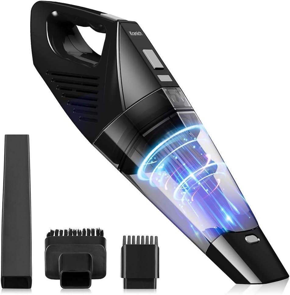 Portatil Aspirador de Mano Sin Cable Mini para Coche y Hogar 120W 7000PA: Amazon.es: Hogar