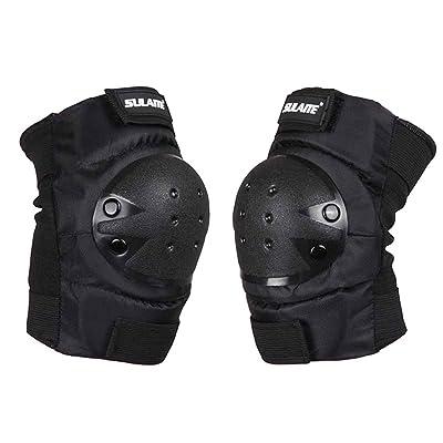 Moresave Genouillères coudières protège-poignets ensemble de protection pour le ski, la moto, la planche à roulettes et à vélo