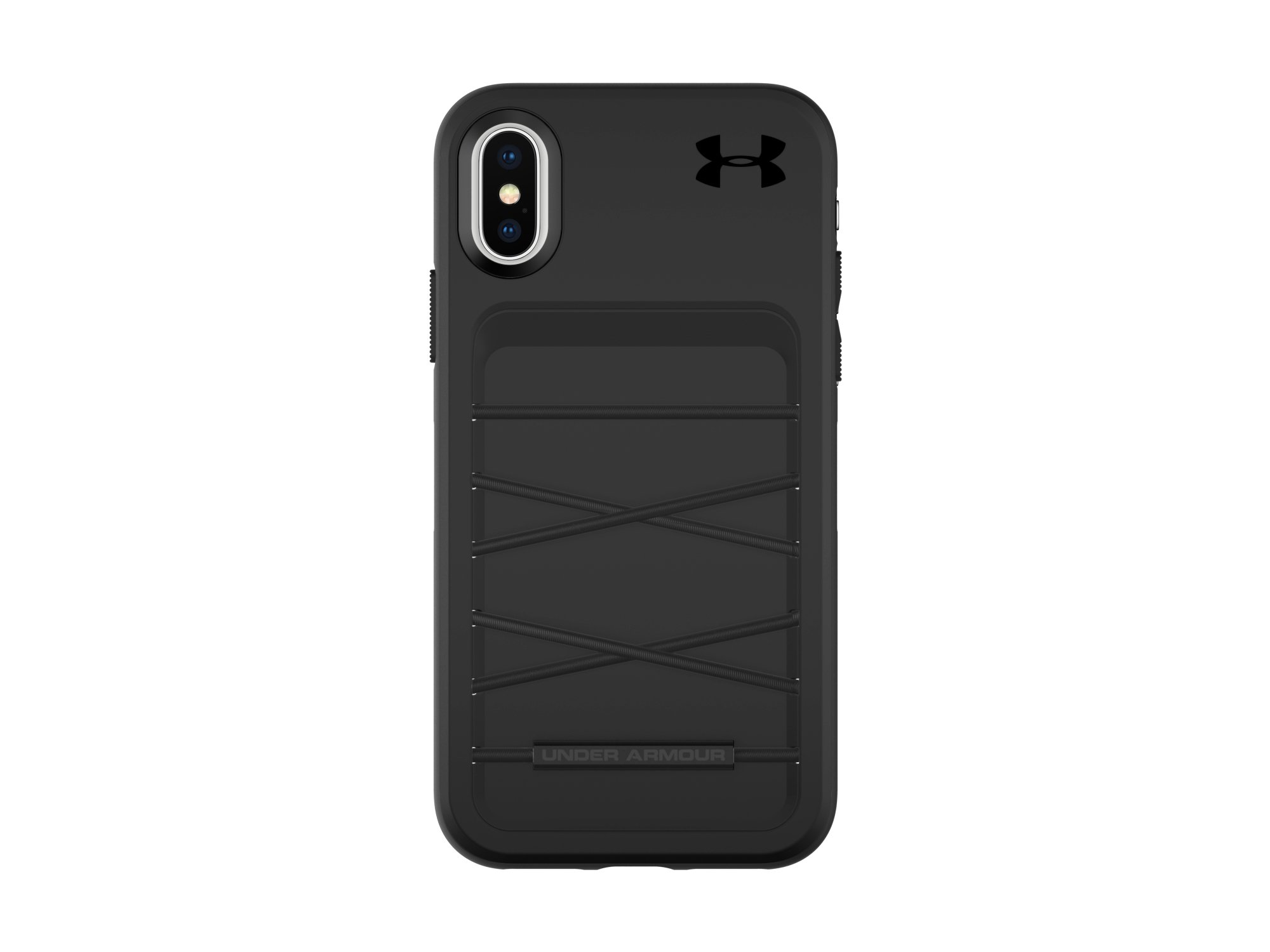 Under Armour UA Protect Arsenal Case for iPhone X - Black/Black by Under Armour