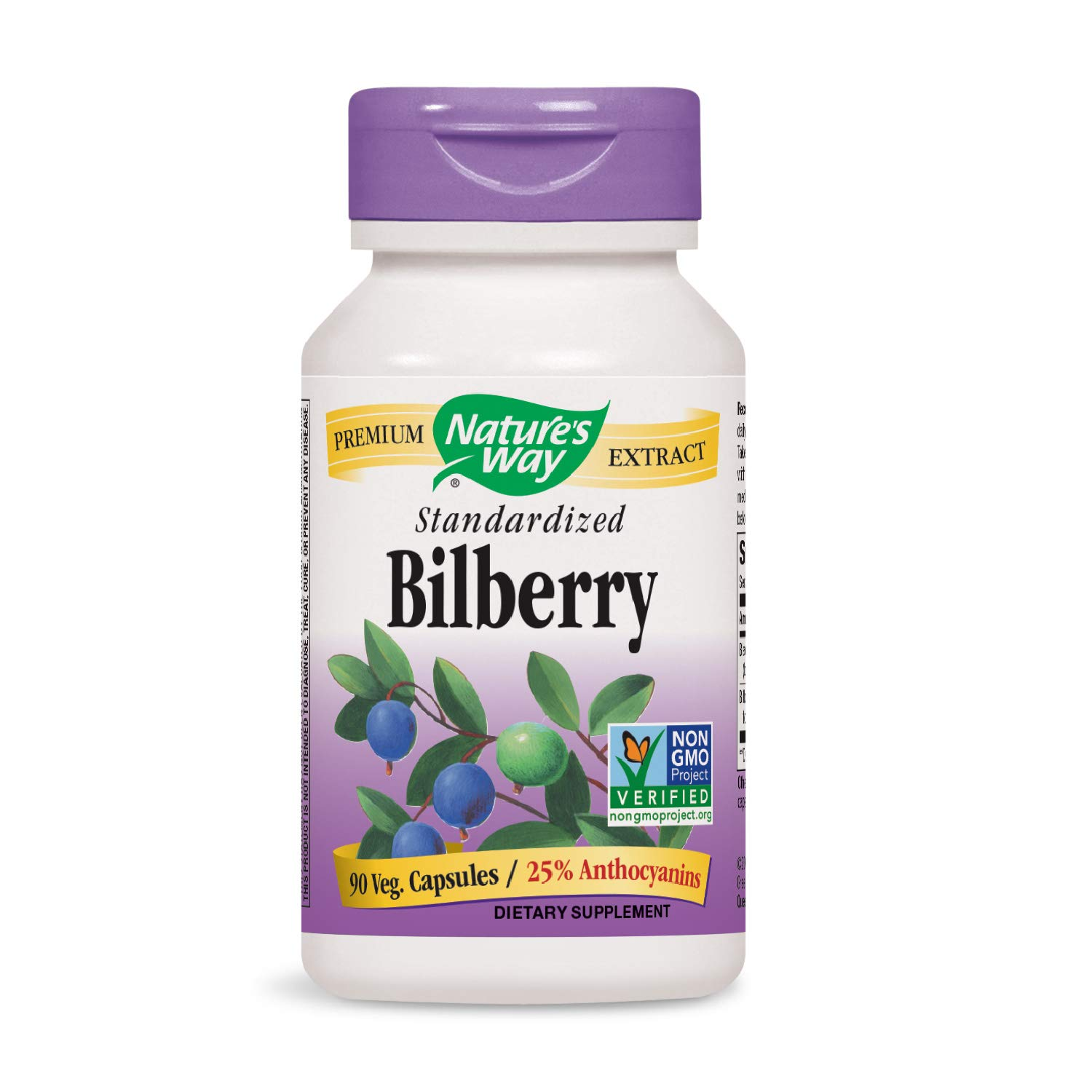 Nature's Way Bilberry Standardized (Packaging May Vary)