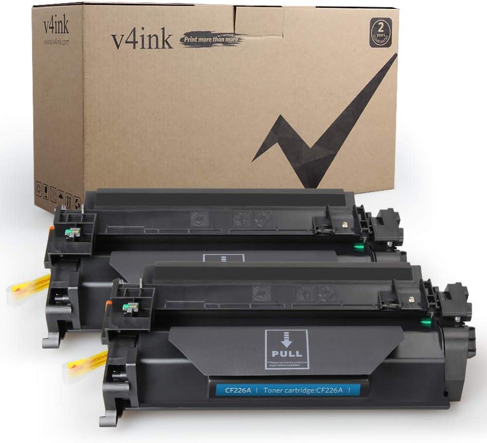 6 Pack CF226A 26A High Yield Black Toner For HP LaserJet Pro M402dn M402 M426fdw