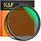 K&F Concept 72mm Polarizing Filter, CPL Lens Filters Optics Glass Polarizer Slim Professional Polarising Multi-Coated Circula
