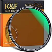 K&F Concept 72mm Polarizing Filter, CPL Lens Filters Optics Glass Polarizer Slim Professional Polarising Multi-Coated…