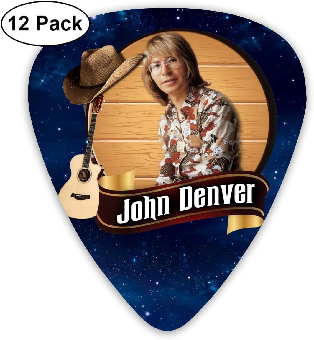 Modern Design Stylish Patterned Guitar Picks John Denver This Selection Of Guitar Picks
