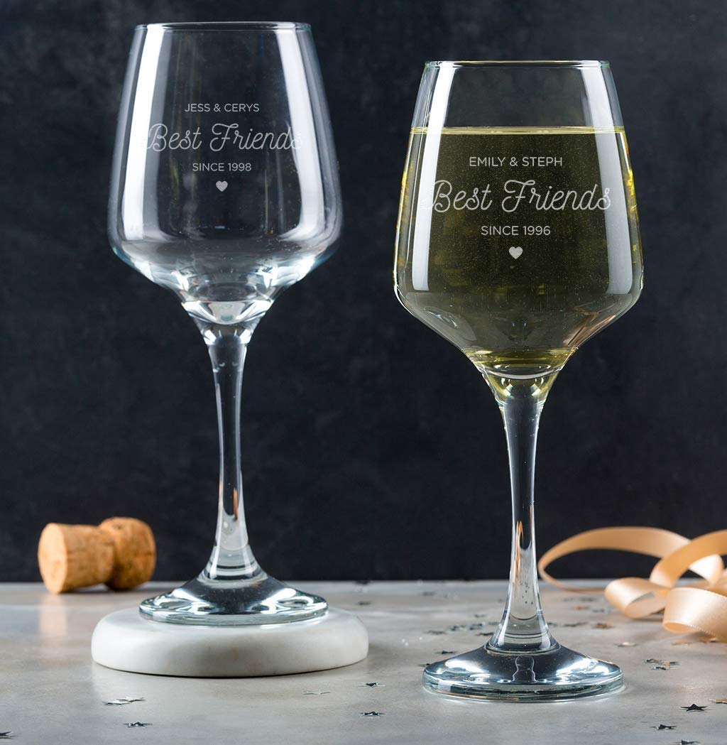 Wine glass for friends gift for friend gift for her good friends gift