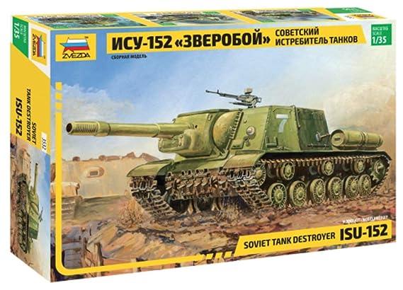 Zvezda - Maqueta de tanque escala 1:35 (Z3532)