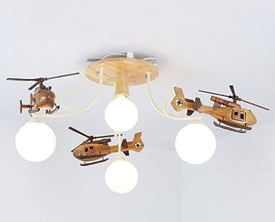 Lampada da camera da letto in legno massello lampada moderna