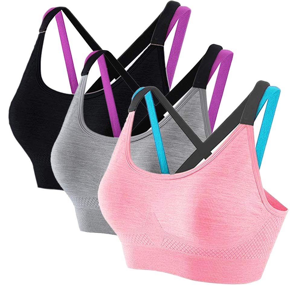 Brief Shockproof Sport Bra Frauen Nahtlose Workout Yoga Stretch Tank Tops