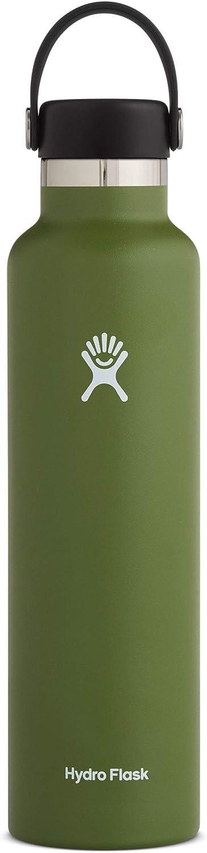 Hydro Flask Standard Mouth Water Bottle, Flex Cap - Multiple Sizes & Colors