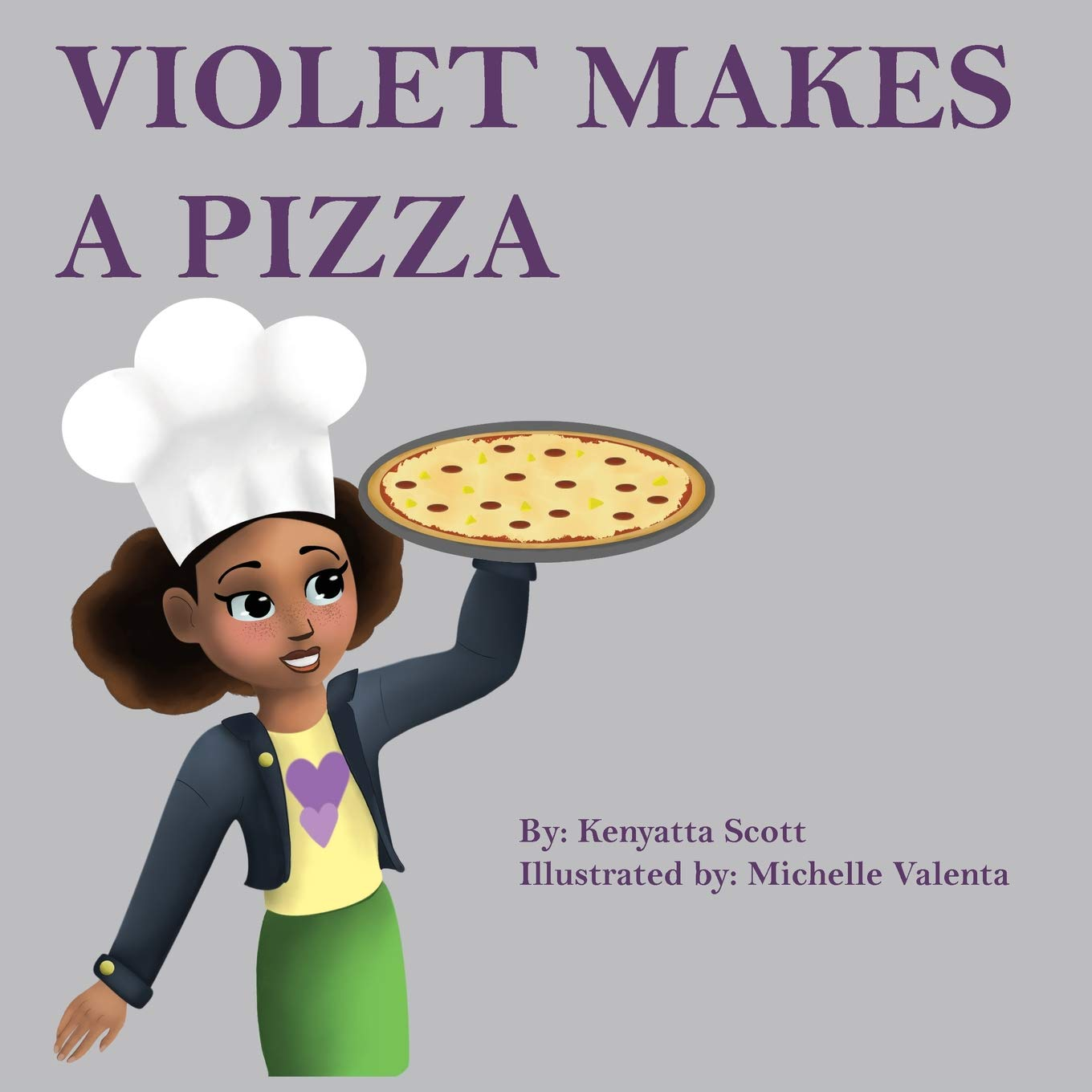 Violet Makes A Pizza (The Violet Book Series)