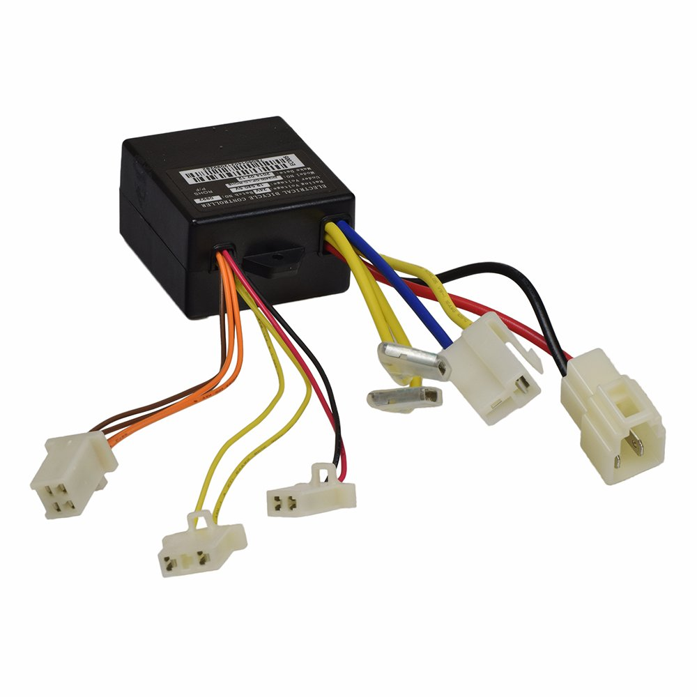 Amazon.com : Alvey ZK2400-DP-FS Control Module with 4-Wire Throttle  Connector for the Razor eSpark and the E100/E125 (Versions 10+), E150,  E175, ...
