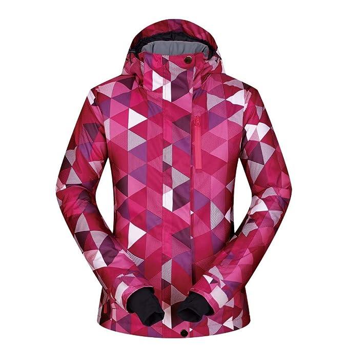 Chaqueta de esquí Impermeable para Mujer Tops Abrigo de Escalada Exterior Prendas de Abrigo: Amazon.es: Ropa y accesorios