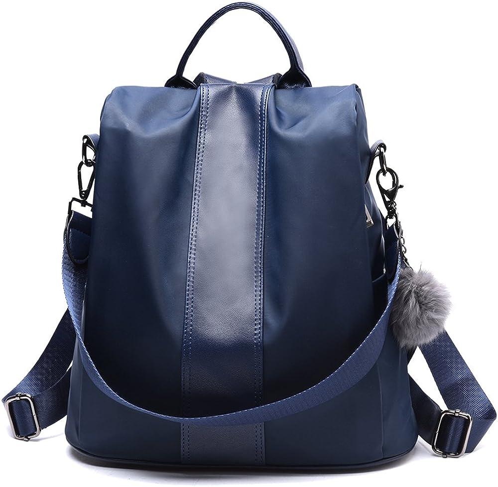Women's Leather Backpack Anti-Theft Rucksack School Shoulder Bags Handbags Totes