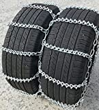 TireChain.com 215/85R16, 215 85R16LT Dual Tire Chains Set of 2